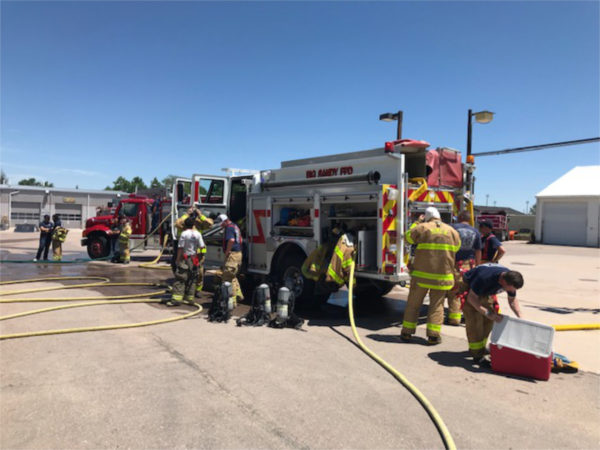 Burn Trailer Training