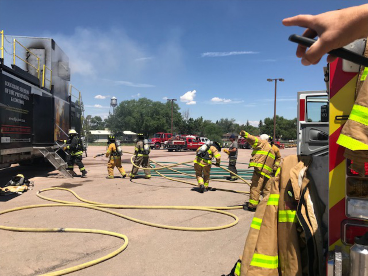Burn Trailer Training