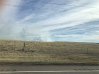 grass fire March 2018