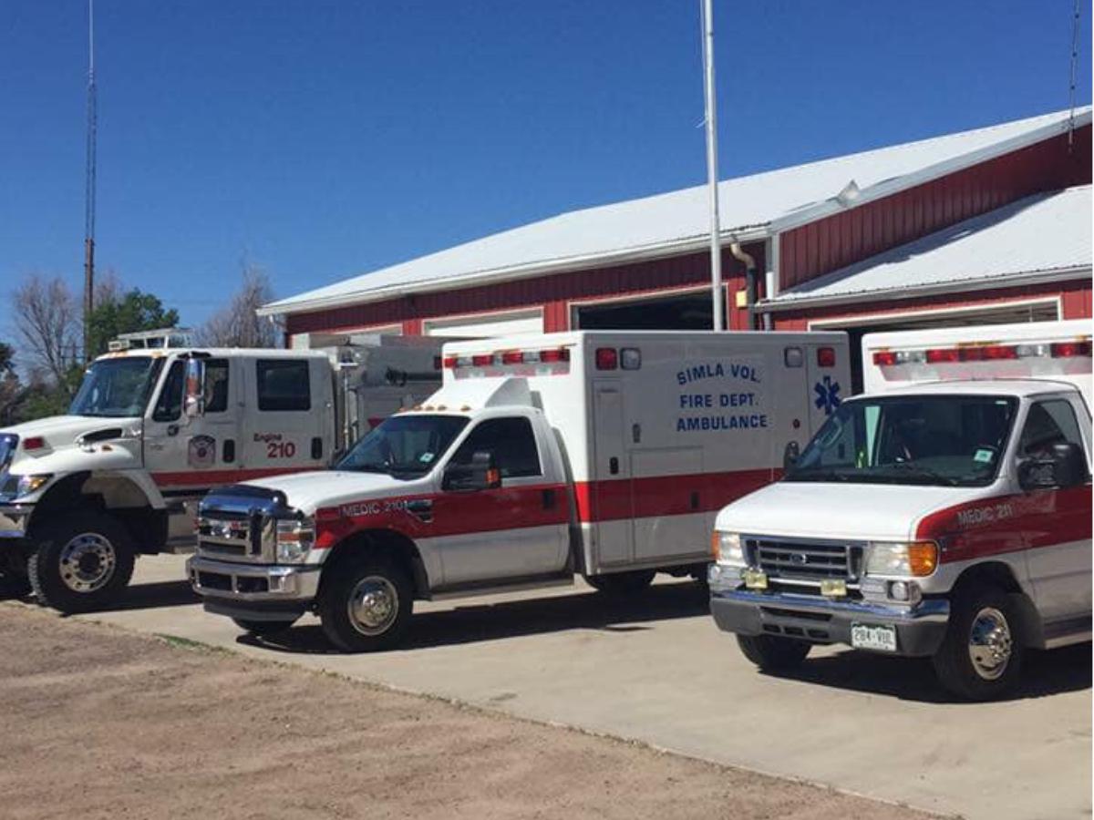 Medics & Engine at Station