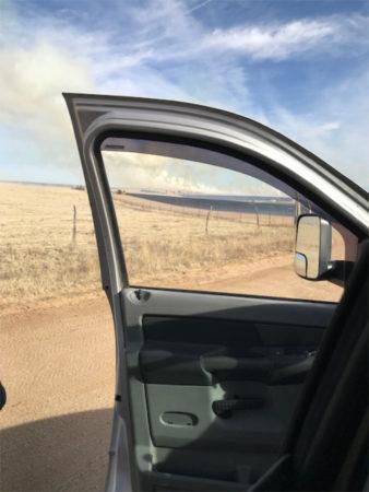 grass fire March 2018