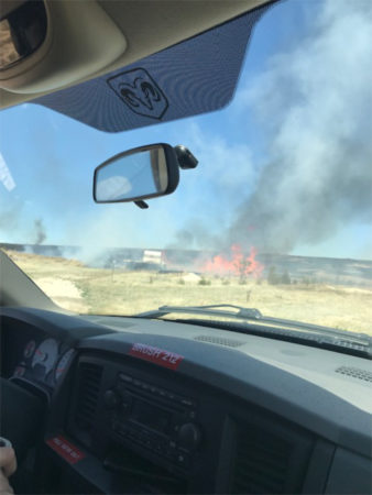 grass fire March 2019