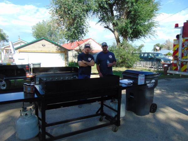 SVFD prepares Labor Day BBQ